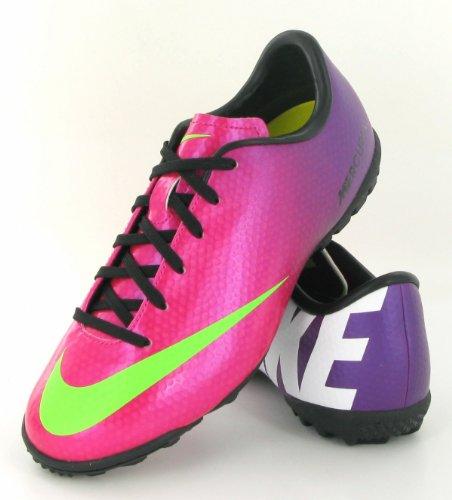 Nike JR Mercurial Victory TF base ball Scarpe BAMBINO Rosa (rosa)