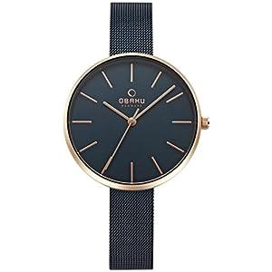 Obaku V211LXVLML - Reloj de pulsera para mujer de Obaku
