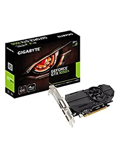 Gigabyte GeForce GTX 1050 Ti OC Low Profile 4G GeForce GTX 1050 Ti 4GB GDDR5 - graphics cards (NVIDIA, GeForce GTX 1050 Ti, 7680 x 4320 pixels, 1303 MHz, 1417 MHz, 7680 x 4320 pixels)