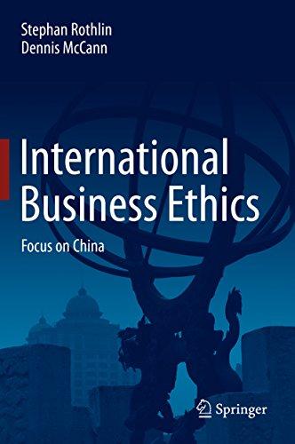 ss Ethics: Focus on China (Dennis Mccann)