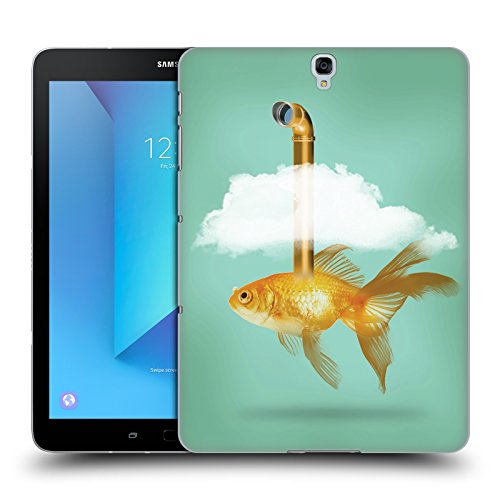 Tasche Periskop (Offizielle Vin Zzep Periskop Goldfisch Fisch Ruckseite Hülle für Samsung Galaxy Tab S3 9.7)