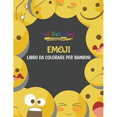 Emoji : Libro Da Colorare Per Bambini