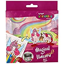 Shrinkles wz056 Unicorn plástico mágico Crafts Mini Pack