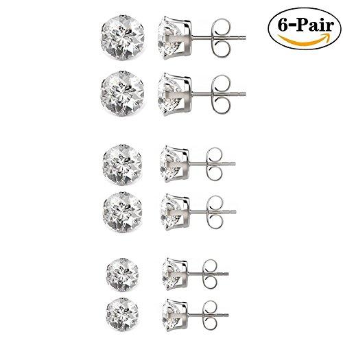besjewel-6-pairs-diamond-stud-earrings-316l-surgical-stainless-steel-hypoallergenic-earrings-3mm-5mm