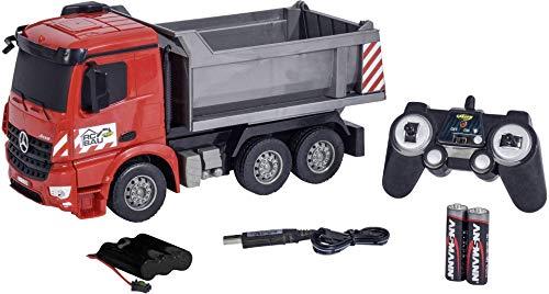 RC Auto kaufen Baufahrzeug Bild: Carson Modellsport Muldenkipper 1:26 RC Einsteiger Funktionsmodell Baufahrzeug inkl. Akku, Ladegerä*