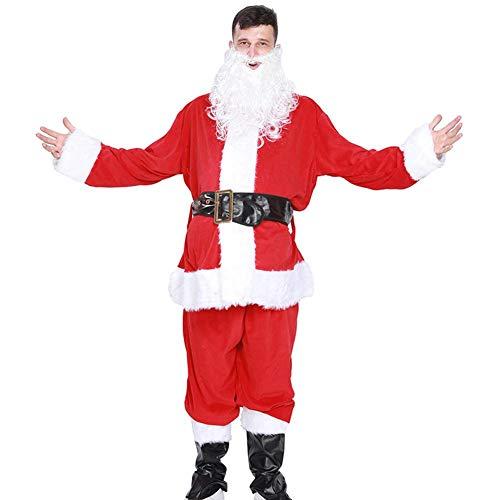 Gowind6 5pcs Kreative Unisex Frauen Herren Santa Claus Tops Hosen Weihnachten Kleidung Set