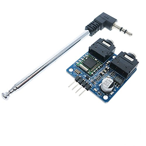 iHaospace TEA5767 FM Stereo Radio Module With Antenna for Arduino Raspberry Pi DIY 76-108MHZ