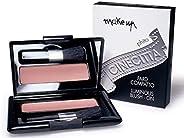 Fard compact Cineville Make Up (abricot)