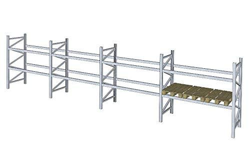 Schwerlastregal Dexion P90 B 11,3 m H 2,5 m Palettenregal Regal 3000 kg Fachlast