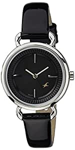 Fastrack Analog Black Dial Women's Watch - 6117SL02