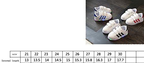 Ohmais Enfants Filles Garçon Chaussure de loisir chaussure de sport souliers Bleu