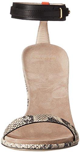 Cole Haan Cyro Robe Sandal Black/Roccia Snake Print