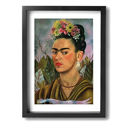Pintura C Frida Kahlo Mexicana Folk Arte Pared Póster