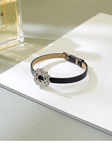 hrcxue Armband Armband Leder Floral Geometrische Einfache Frauen Studenten Sen PREMIER Honig Paare Personalisierte Schmuck (Premier-beauty)