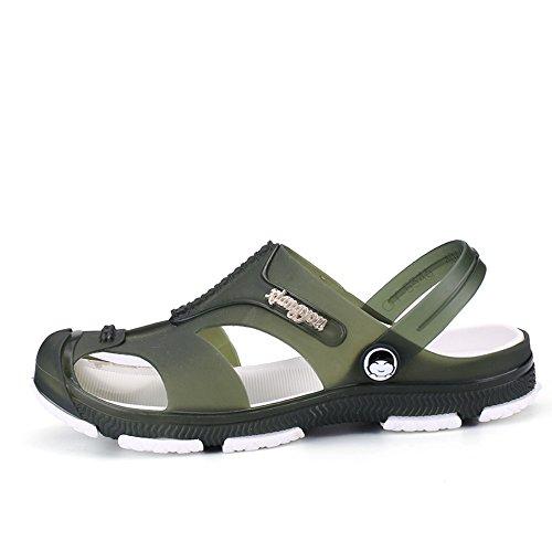 Herren Schlüpfen Atmungsaktiv Strand Schuhe Sport Sandalen Flip Flops (Strand Skateboard)