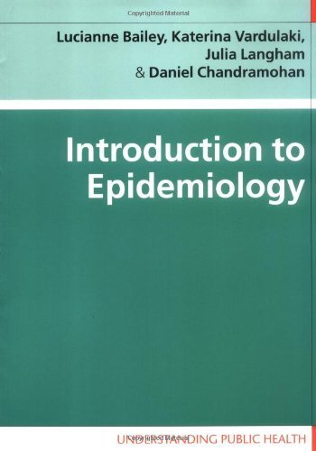 Introduction to Epidemiology (Understanding Public Health) by Lucianne Bailey (2005-09-01)