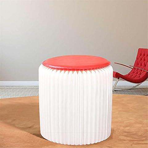 Chaises pli en papier Meubles créatifs Simplicité élégante Chaises pliantes