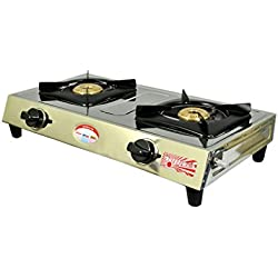 SURYAJWALA SS02 SURYA BB 2 Burner Manual Gas Stove