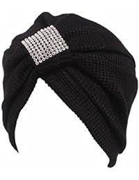 Morwind Mujeres Cáncer Chemo Sombrero Bufanda Bufanda Turbante Head Wrap Cap