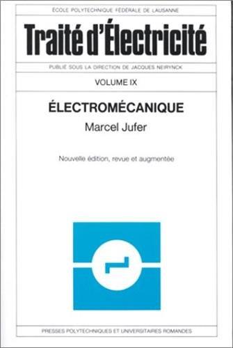 Electromécanique par Marcel Jufer