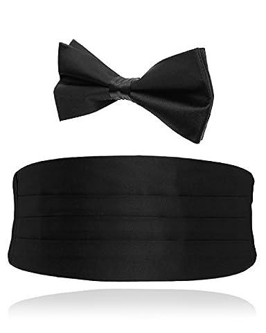 Alexander Dobell - Ceinture de smoking - Homme - Noir - Noir - Taille unique