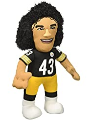 Bleacher Creatures NFL TROY POLAMALU - Pittsburgh Steelers Plush Figure