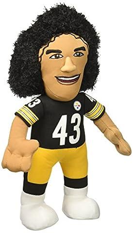 Bleacher Creatures NFL TROY POLAMALU - Pittsburgh Steelers Plush Figure