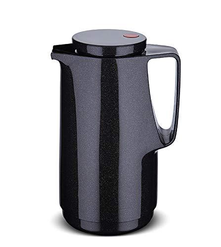 Rotpunkt Isolierkanne 760 1,0 l | (Sparkling Black) schwarz Doppelwandige Vakuumisolierung | Zweifunktions-Drehverschluss | BPA Frei- gesundes Trinken | Made in Germany