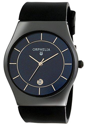 Orphelia Herren- keramik Armbanduhr Infinity Analog Quarz Silikon