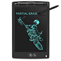 NEWYES Partial Erasure Writing Tablet - 8.5 Inches LCD Writing Pad Drawing Doodle Board With Full&Partial Dual Erase Mode, Lock Switch,Gift for Kids Office Family