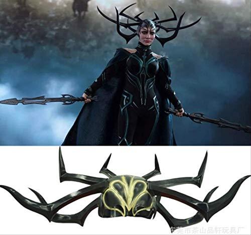 n-Maske Geschenke Für Frauen/männer Seltsamen Spielzeug Film Raytheon 3 Gods Dusk Cos Göttin des Todes Hella Hela Maske Halloween Movies Props ()