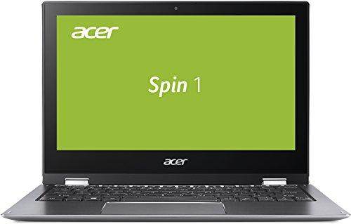 Acer Spin 1 SP111-32N-P56D 29,5 cm (11,6 Zoll Full-HD IPS Multi-Touch) Convertible Notebook (Intel Pentium N4200, 4GB RAM, 64GB eMMC, Intel HD, Win 10 S) grau