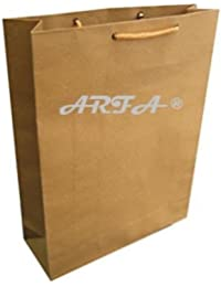ARFA - Multipurpose Brown Paper Bag Eco Friendly And Disposable, 12 X 9 Inchs - Pack Of 100 Bags.