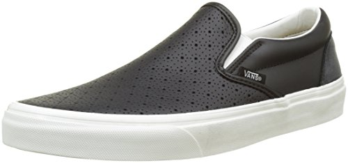 vans-men-ua-classic-slip-on-low-top-sneakers-black-leather-perf-black-9-uk-43-eu