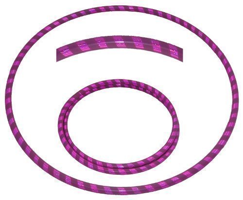 hooping4life-travel-40-102cm-foldable-dance-exercise-fitness-hula-hoola-hoop-hoops-holographic-purpl