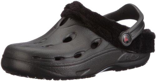 Chung Shi DUX Winter Unisex-Erwachsene Clogs, Schwarz, 43 EU, 8900011