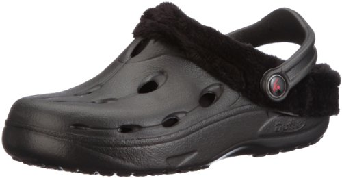Chung Shi DUX Winter Unisex-Erwachsene Clogs, Schwarz, 44/45 EU, 8900011 (Herren-komfort-clogs)