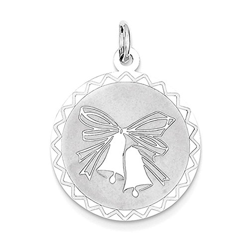 Sterling Silver Wedding Bells Charm - Wedding Bells Charm