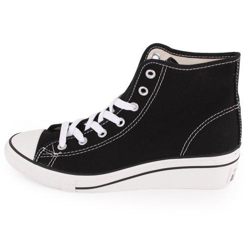 Converse, Sneaker donna Nero