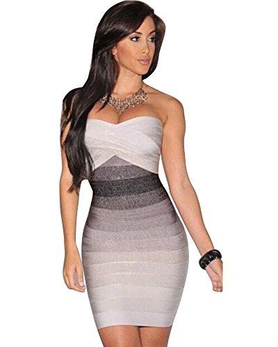 Preiswert YipGrace Frauen Mit Charme Bodycon Schatz Ansatz Kleid S ... bbeb9e4cd0
