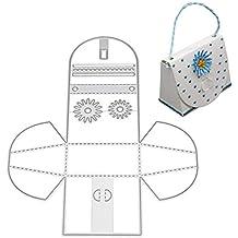 zmigrapddn Troqueles,Bolso Tote Design Troqueles de corte plantilla moldes para hacer álbumes de recortes