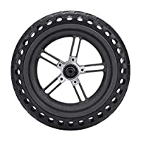 ‏‪Sumeier Wheel Hub And Tire Replacement Set for Electric Scooter Xiaomi Mi Mijia M365 / GOTRAX GXL V2, 8.5 inches Scooter Wheel's Replacement Explosion-Proof Solid Tire (Black)‬‏
