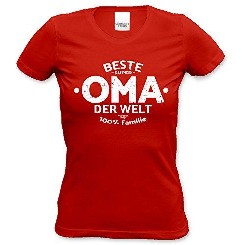 93dd331894d32f Geburtstagsgeschenk Muttertagsgescchenk für Sie Großmutter  -  Damen  kurzarm T-Shirt  -