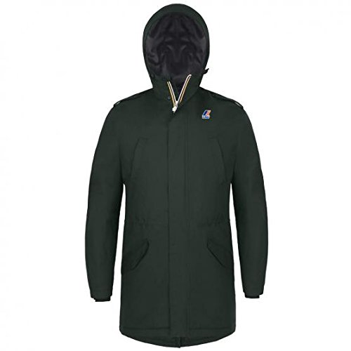 Giacca - Roger Ripstop Marmotta - Green Wood-Antracite - L