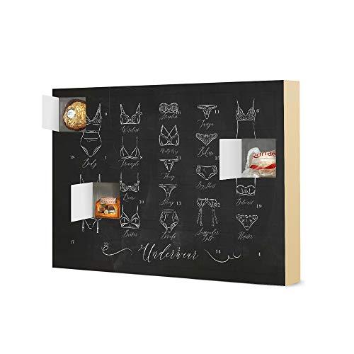 artboxONE Adventskalender mit Pralinen von Ferrero Underwear Classic Chalk Adventskalender Fashion -