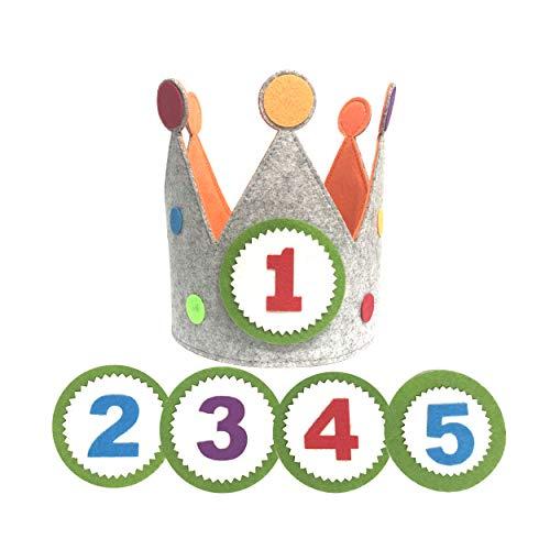 Clan Toys Corona cumpleaños Fiestas Infantiles números