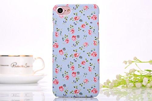 iphone7 Plus Schutzhülle Smartphone Case einzigartige Design Back Cover Tasche (Blumen 9)