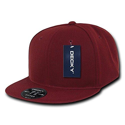 Decky Retro Fitted Caps Head Wear, Herren, Scharlachrot, Size 25 Preisvergleich