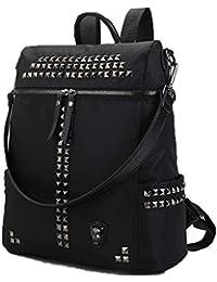 4cd0306ac2dec Yslin Damen Outdoor Rucksack Elegant Mädchen Schultasche Casual Einfach  Daypacks Groß Wasserdicht Mode Backpack…