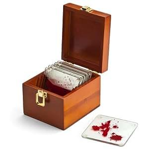 ThinkGeek - Dexter Blood Spattered Coaster Set (6)